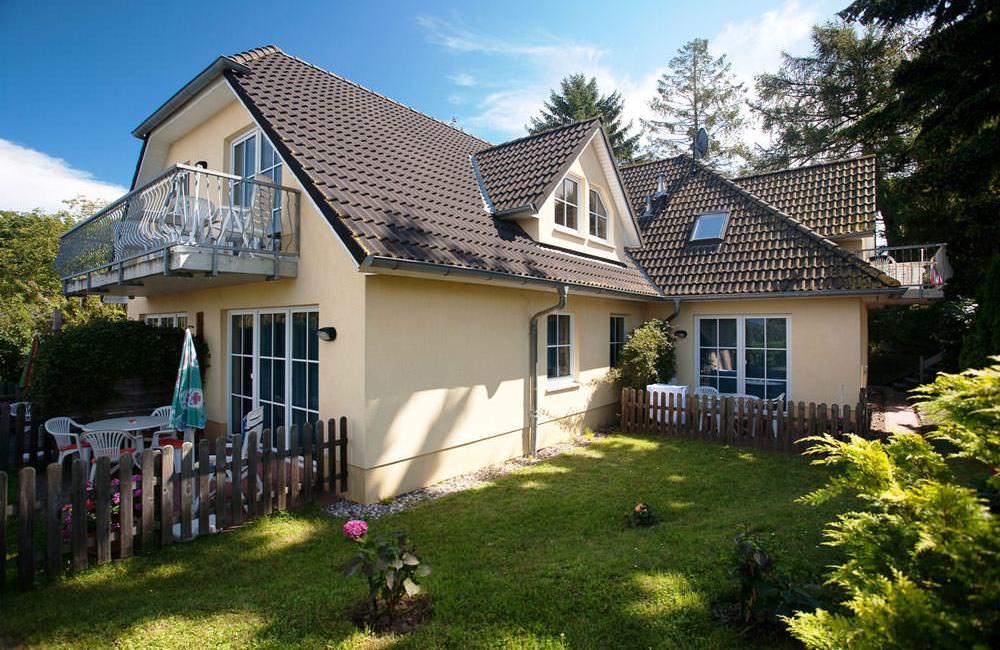 Haus Seeblick im Ostseebad Binz auf Rügen