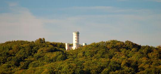 Jadgschloss Granitz in der Nähe vom Ostseebad Binz auf Rügen
