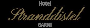 Logo vom Hotel Stranddistel im Ostseebad Göhren auf Rügen