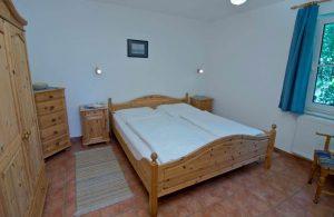 Schlafzimmer Appartement vom Haus Seeblick im Ostseebad Binz auf Rügen