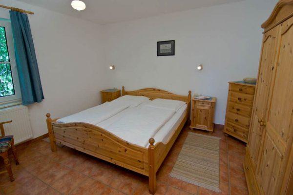 Schlafzimmer der Unterkunft vom Haus Seeblick im Ostseebad Binz auf Rügen